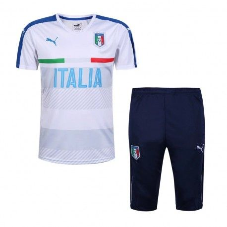 Maillot Training Italie Blanc