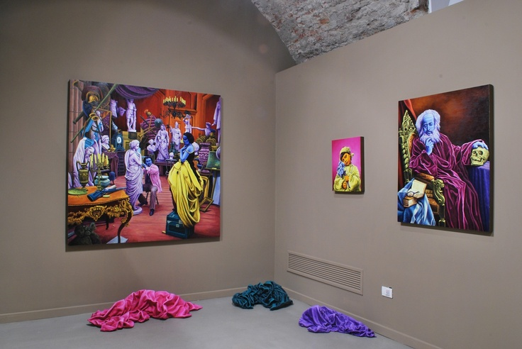 The exhibition is open until May 12th, 2013. Milan - www.stelline.it