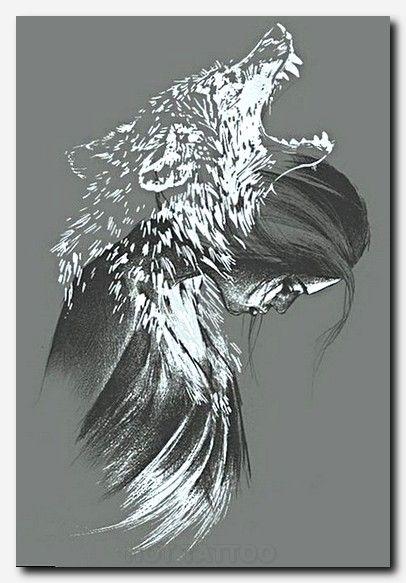 Animal 08a Myth Legend Human Like I Hot Tattoo Raven Art Art Wolf Tattoos