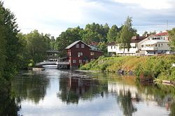 Töcksfors, Värmland, Sweden. A little daytrip with my husband, for some shopping and just having a look around. June 2014.