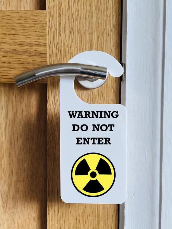 Warning Do Not Enter Funny Hanging Door Sign Bedroom Sign Etsy Door Signs Bedroom Signs Bedroom Door Signs