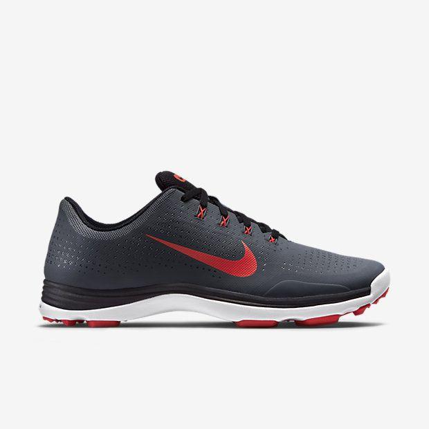 Zapatillas Nike Lunar Fingertrap Tr 4E Negro / Blanco / Negro, para hombre 9.5 4E Men US