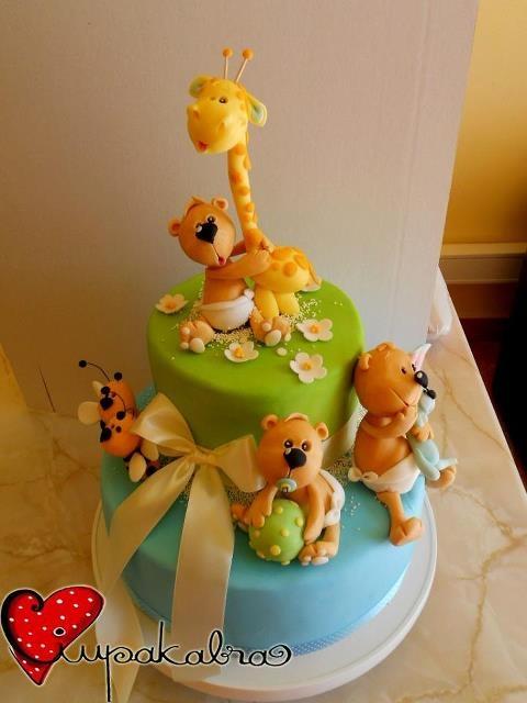 baby shower cake by ciupakabra