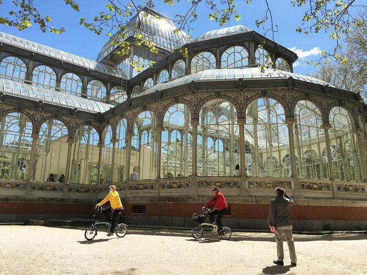 #madrid #palaciodecristal #parquedelretiro #spain #travel