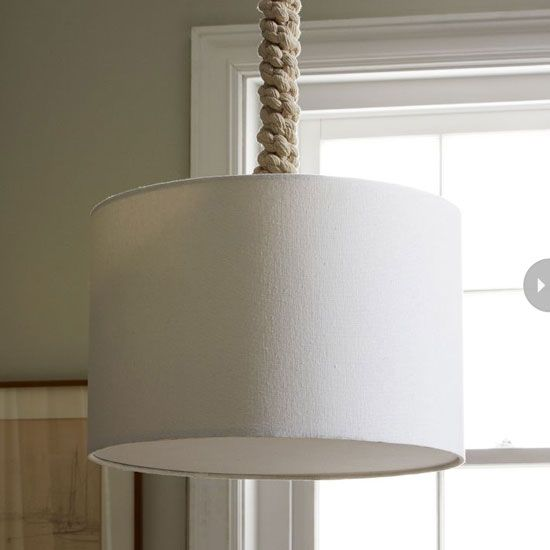 make this with an ikea lamp and some rope