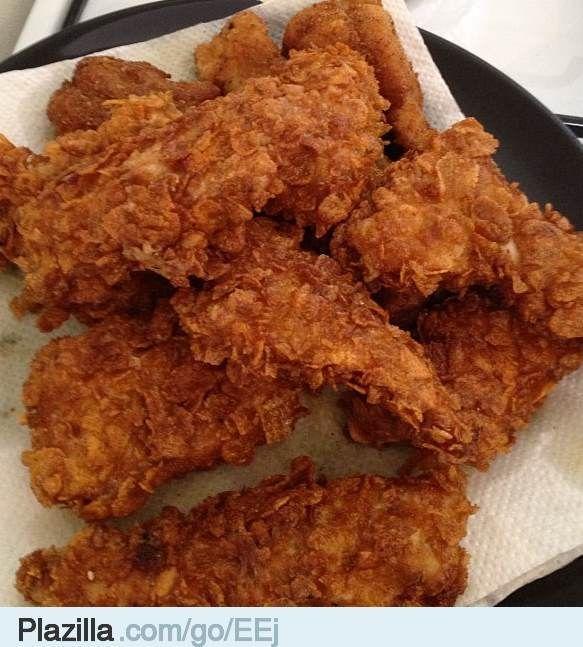 Recept: Maak je eigen KFC gefrituurde kip - Plazilla.com