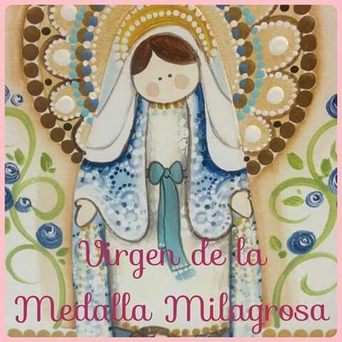 Virgen de la Medalla Milagrosa.