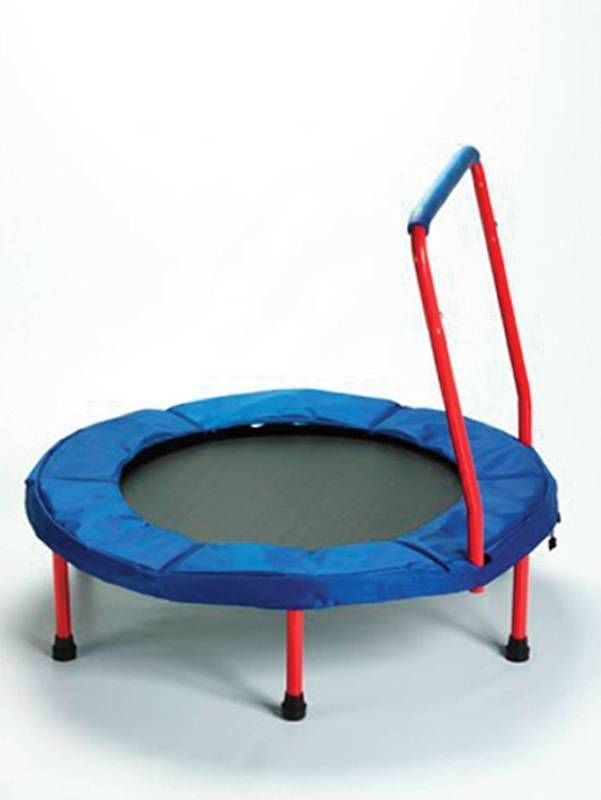 Elegant Fold and Go Trampoline Jump that energy away anywhere on this small trampoline