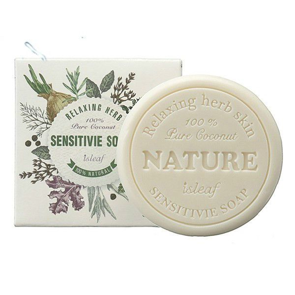 isLeaf Relaxing Herb Sensitivie Soap 100g X 1ea  #isLeaf