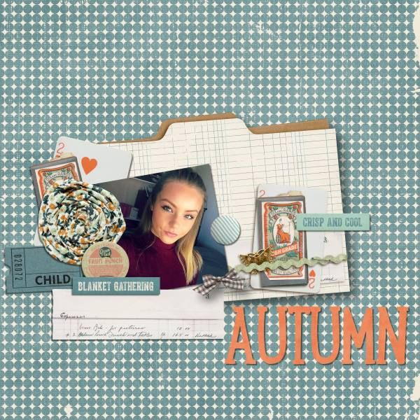 Fall Frolic - Credits: Fall-Frolic-Elements by Amy Wolff, Fall-Frolic-Papers by Amy Wolff and they're 50% of today!