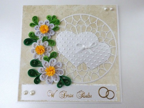 206 Best Quilling Wedding Images On Pinterest