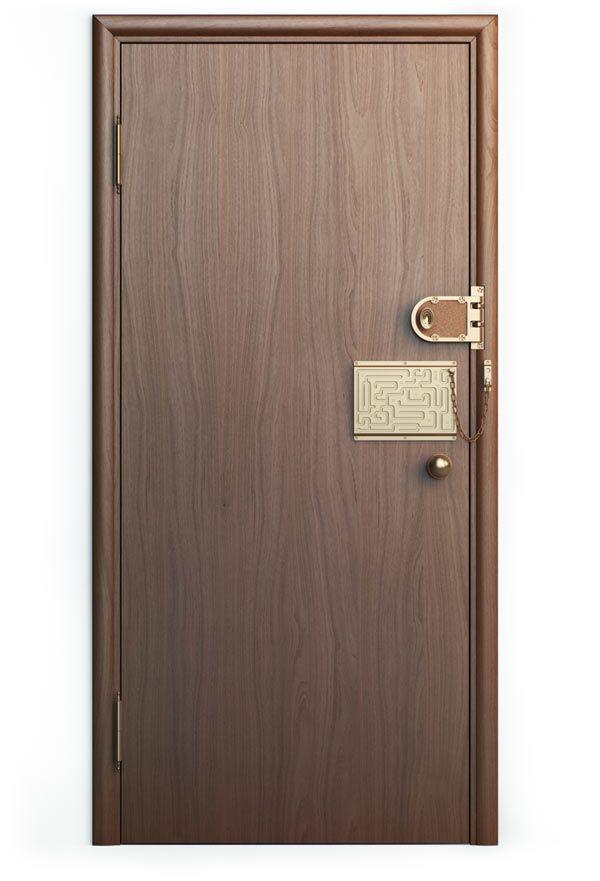 Defendius door chain
