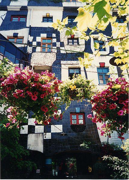 Kunsthaus (by Hundertwasser), Vienna, Austria
