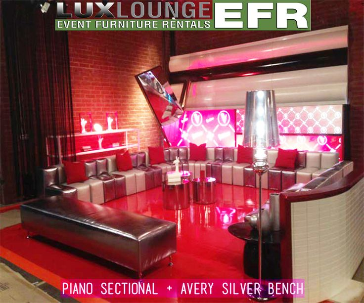 Piano Sectional only from Lux Lounge Efr