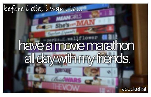 Disney movie marathon