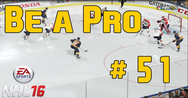 "NHL 16 Gameplay Be a Pro Episode 51 ""Playoffs Round 1 Game 2"""