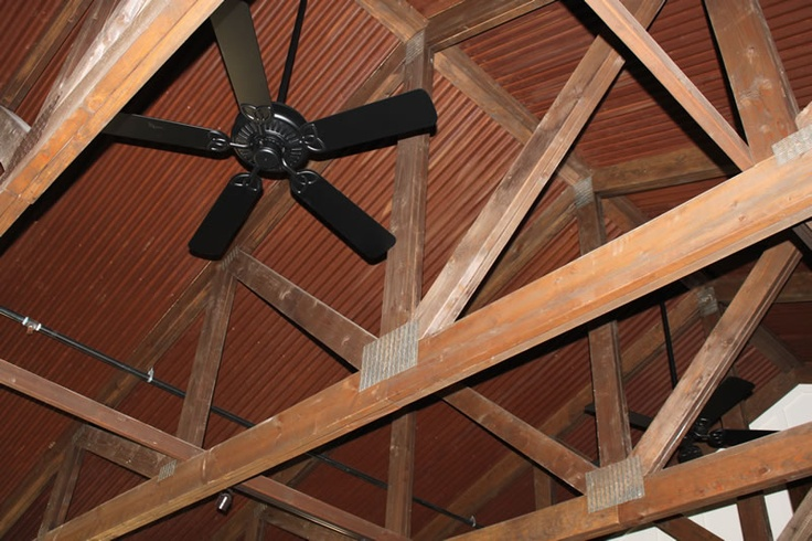 16 Best Cabin Ceilings And Truss Images On Pinterest