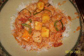 Thai Prawn and Pineapple Curry, 'Kaeng Khua Saparot'