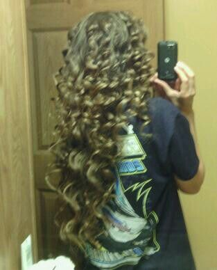 Love tin foil curls