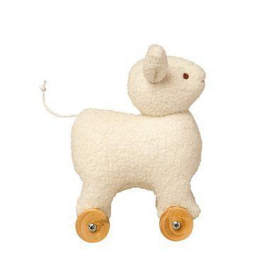 Mini Mouton à Roulettes Ivoire