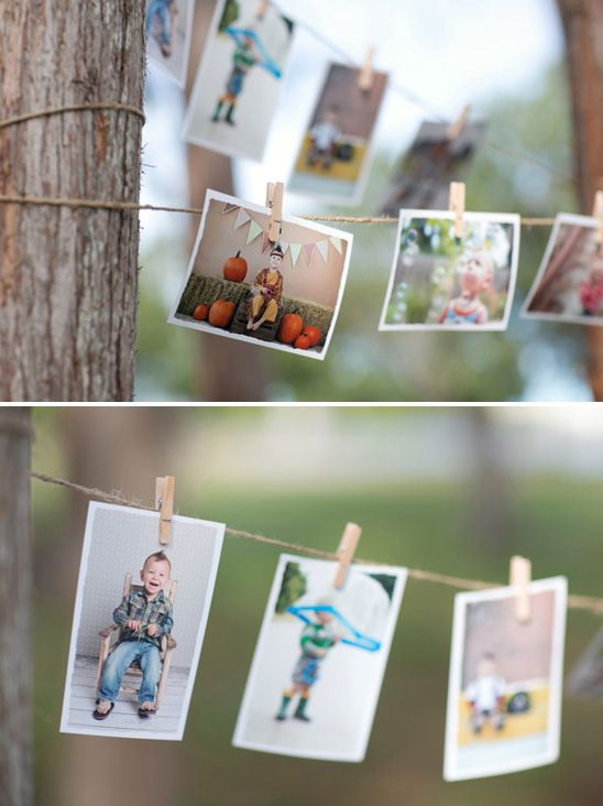 photo timeline | Train Themed Birthday Party
