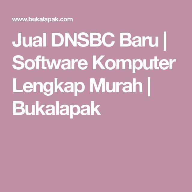 Jual DNSBC Baru | Software Komputer Lengkap Murah | Bukalapak