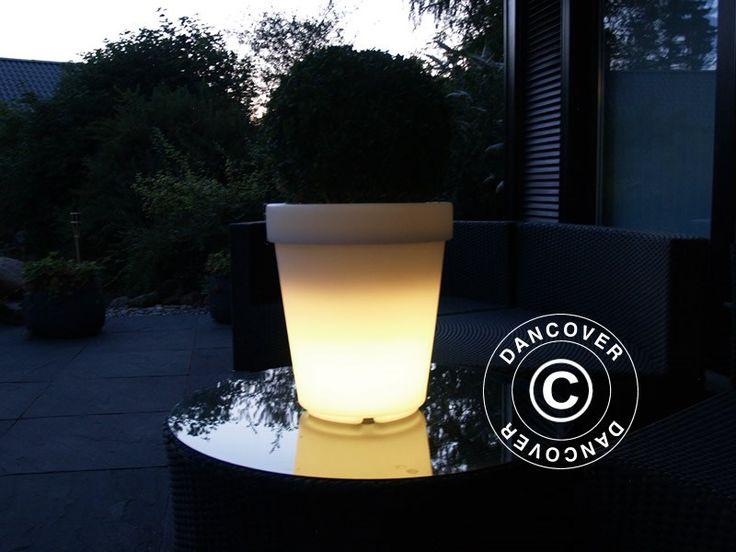 Flower pot, LED , Small, 32 cm