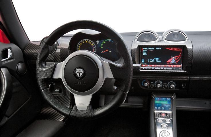 Interior Of Tesla Roadster