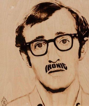    Movies inspire Art     Title: Ironic Woody Artist: Ryan McCann