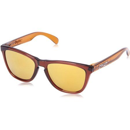 Oakley Frogskins Orange Men's Sunglasses,