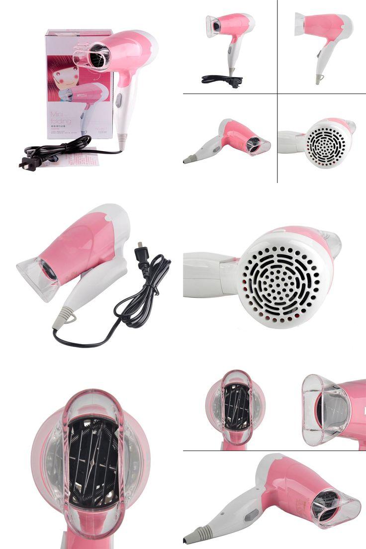 [Visit to Buy] Mini Ceramic Ionic Hair Blower 1000W Professional Salon Hair Dryer High Power 220V foldable handle Travel Household Hairdryer #Advertisement