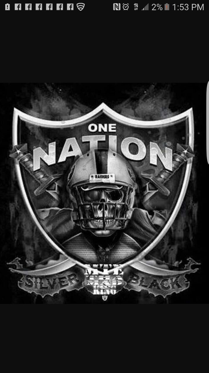 Oakland Raiders Nail Art: 172 Best Images About Girls Raider Fans On Pinterest