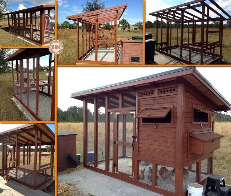 DIY Backyard Chicken Coop Allan Inglis & Linda Inglis Georgia would love one of these LOL