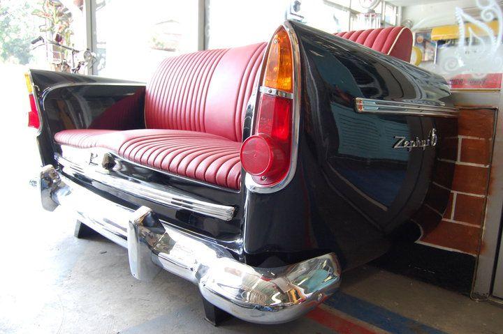 Black and Red  Car Sofa Idea NO.3