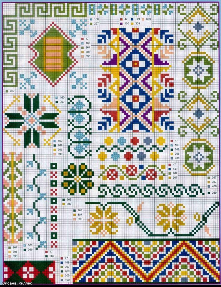 Cross-Stitch Sampler...