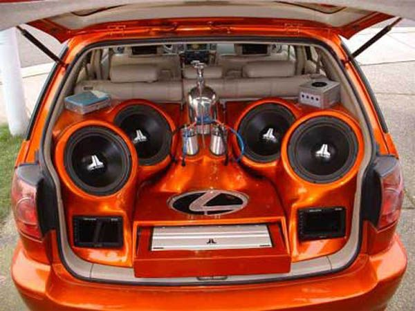 Sound systems for cars