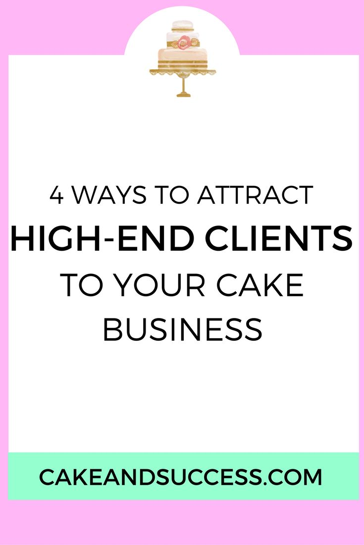 Want to attract better paying clients to your cake business? Try these 4 tweaks you can make right away! How to price your cakes, cake decorating tutorial, sugar flower tutorial, cake tasting