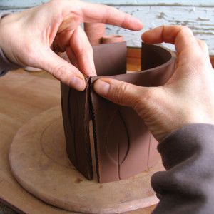 Sarah Pike's Lesson on slab built teapots
