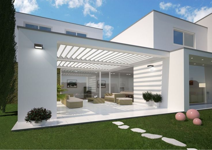 Sieht nicht nur optisch gut aus, sondern ist auch noch sehr praktisch. Fledmex Terrassenüberdachung!