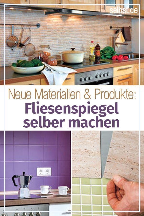 Fliesenspiegel Küche selber machen | HEIMWERKEN | Fliesenspiegel ...
