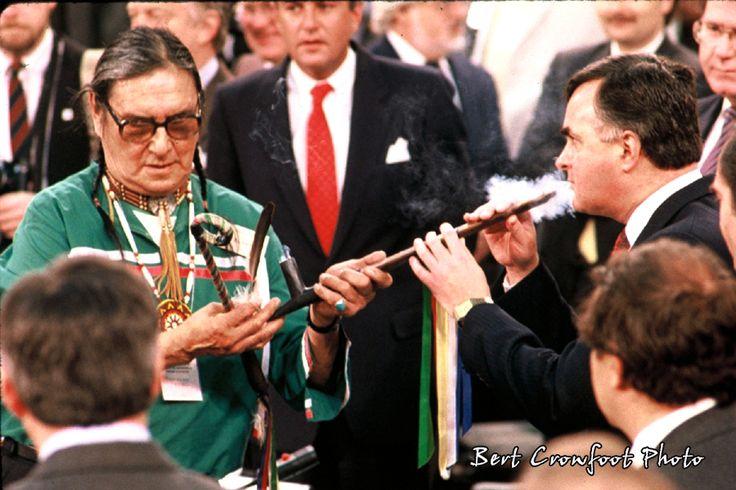 Pipe Ceremony with Elder Alex Skead