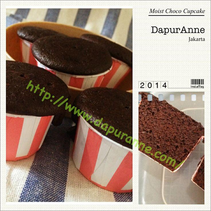Moist Choco Cupcake