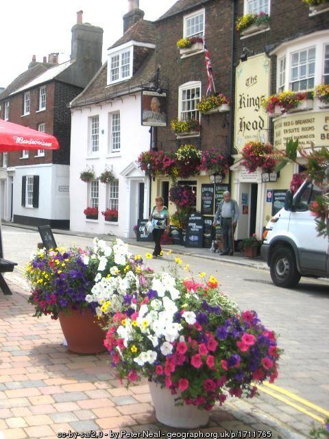 The Kings Head pub, Deal, Kent, England