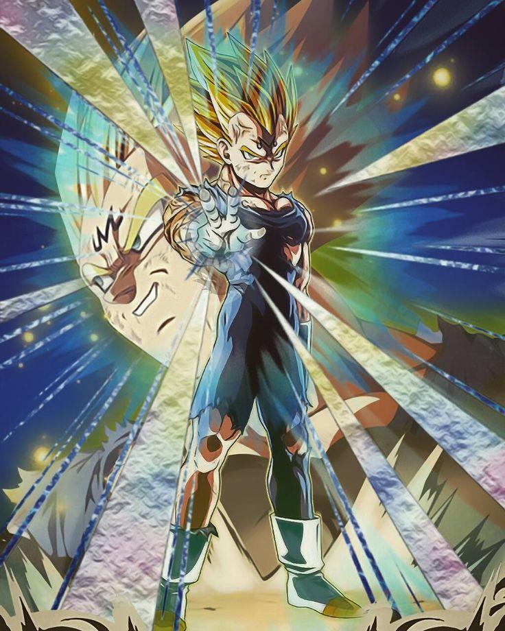 Majin Vegeta ultimate sacrifice | Dragon Ball z ...