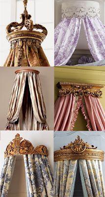 Coroas de camas reais