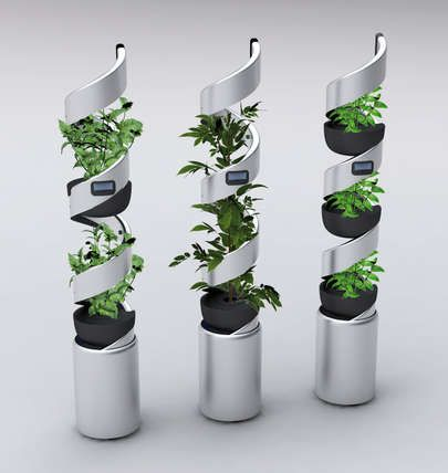 Self-Sustaining Seed Servers - Elica Idroponica is a Domestic Hydroponic Ideal for Urban Cultivation (GALLERY)