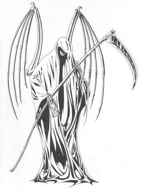 25+ best ideas about Grim reaper drawings on Pinterest ...