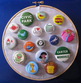 how to make a pinback button without a button machine