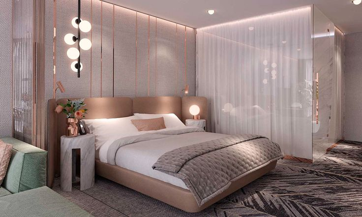 STUDIO SUITE HOTEL ROOM,This project was worked out in I-am' Associates Istanbul