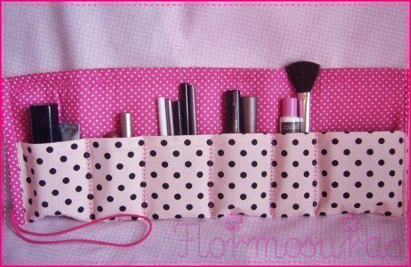 Porta maquiagem e organizador de bolsa